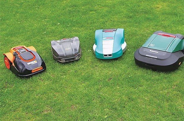 Automat na údržbu trávníku?