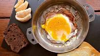 Smažená vajíčka.