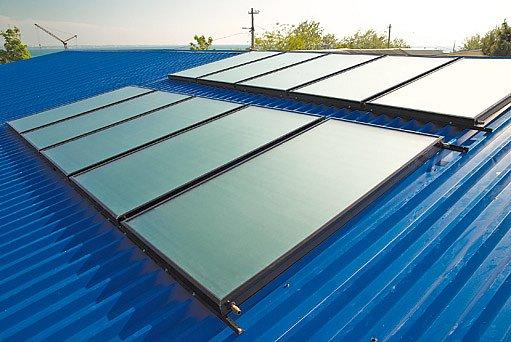 solární systémy pro ohřev vody