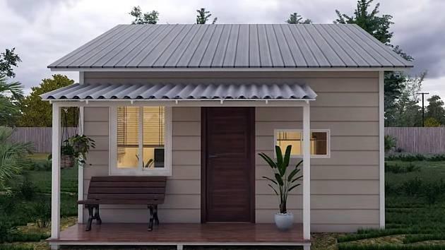 Praktický domek o rozloze 30m2