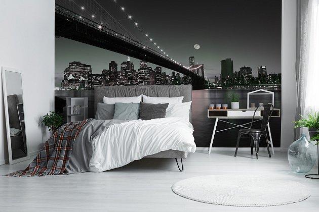 Fototapeta New York Brooklyn bridge