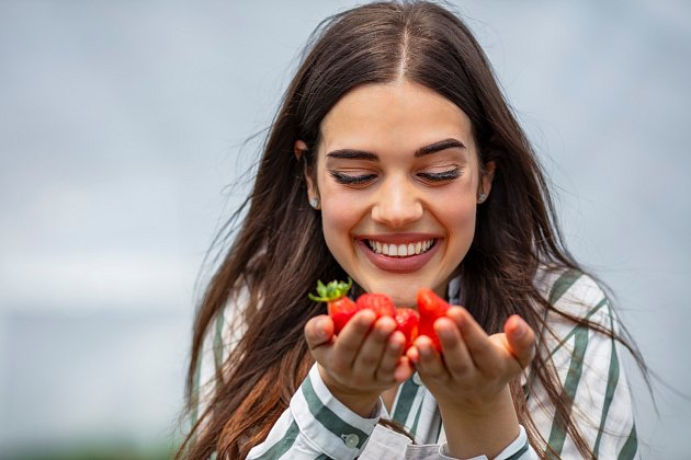 V jahodách ovšem najdete užitečné vitamíny jako je A, B, C a E.