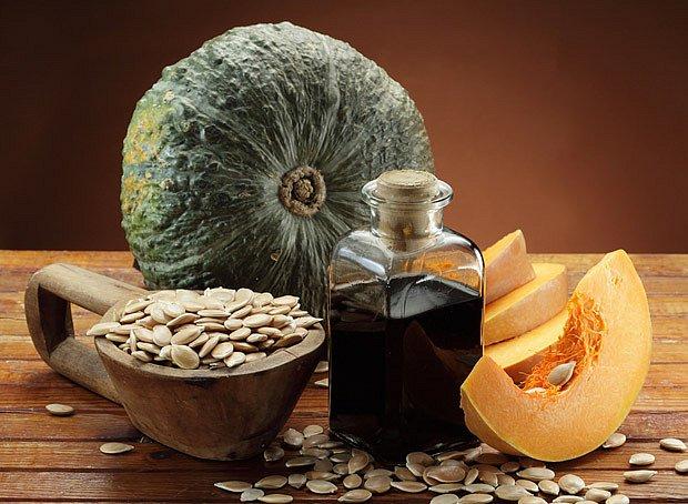 Z dýňových semen se lisuje vynikající olej