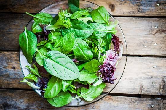 Zeleninový salát není jediným dietním jídlem