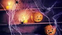 Důležité je, aby halloweenská výzdoba měla náležitou děsivou atmosféru.