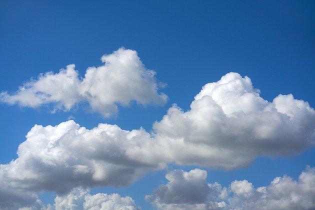 Oblak cumulus nebo-li kupa