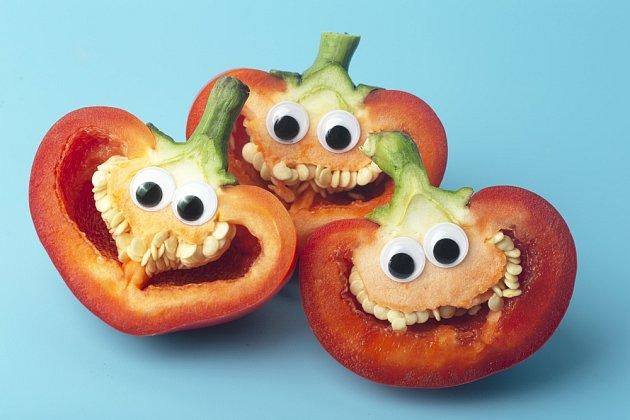 Zeleninu můžeme dětem servírovat i hravou formou