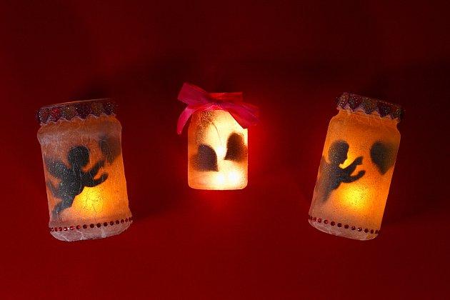 Vyrobené svícny