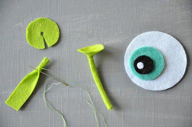 Oko a anténky pro originální penál