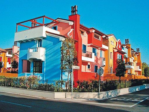 barvy rozjasní celý dům či bytový komplex