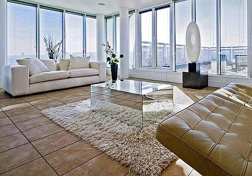 dlažba v interiéru může působit luxusním dojmem
