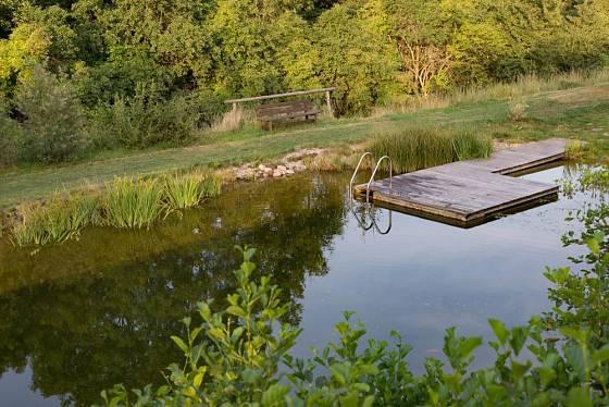 Přírodní koupací biotopy začínají nahrazovat i obecní koupaliště