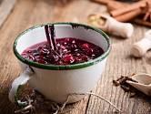 Pečený čaj můžeme připravit z různých druhů ovoce.