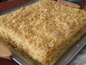 Napoleonský dort