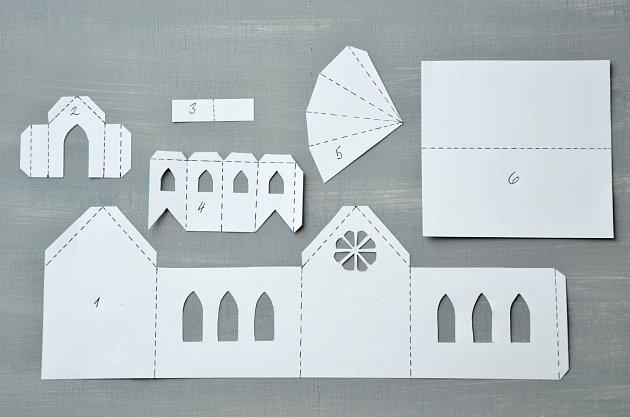 Budoucí papírový kostelík