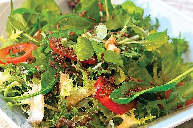 saláty baby leaf