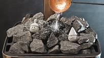 saunovací kameny