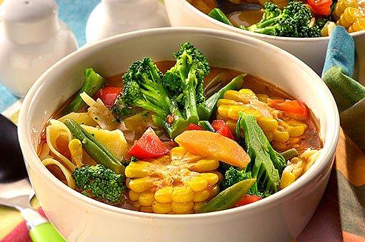 kužecí zeleninový hrnec
