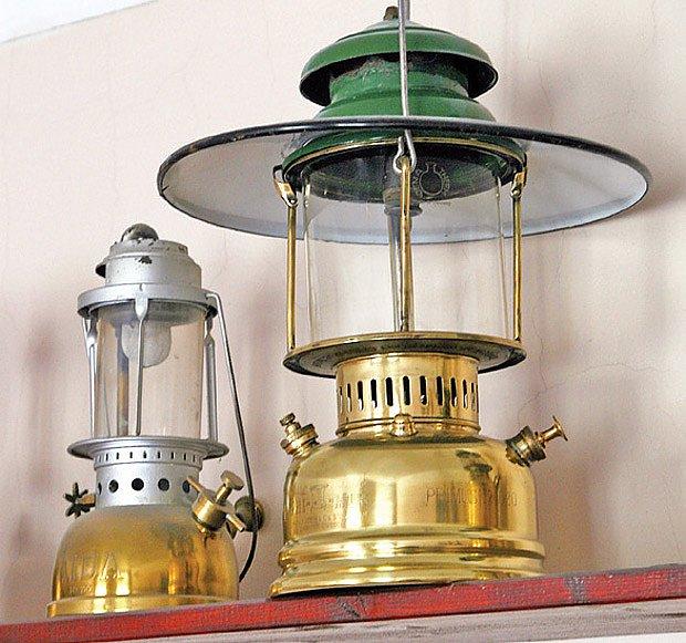 Tlakové petrolejové lampy