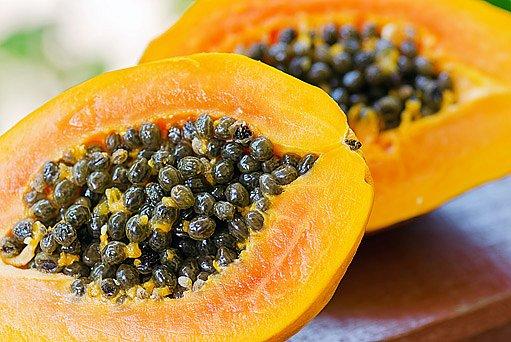 plody papáji