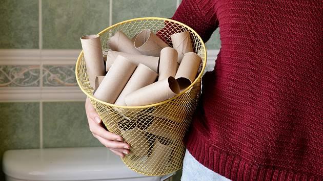 Ruličky nevyhazujte. Lze je v domácnosti velice dobře využít.