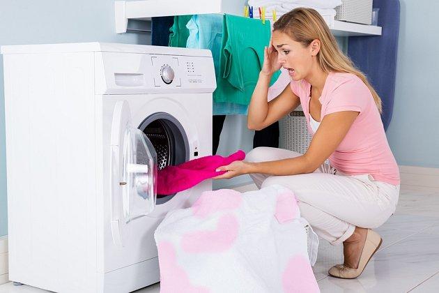 Nehody při praní nepotěší