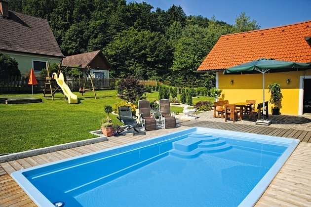 Příprava bazénu je důležitá.