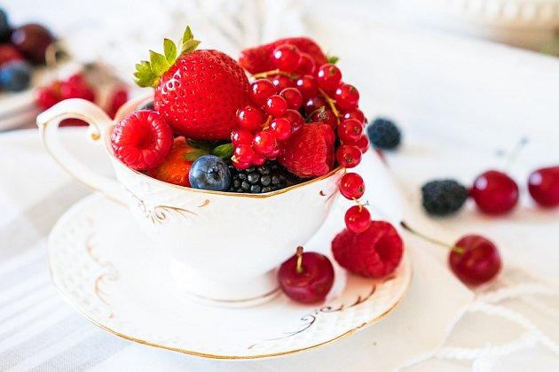Pečený čaj můžete připravit z různých druhů ovoce.