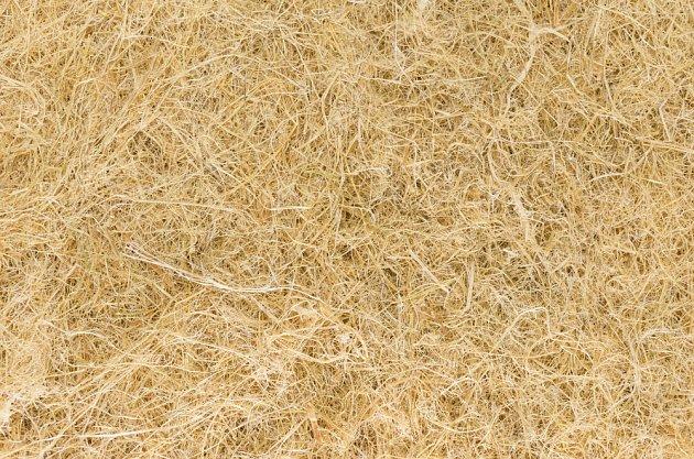 Dřevěná vlákna jsou přírodní zateplovací materiál.