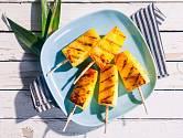 Grilovaný ananas je výjimečná pochoutka