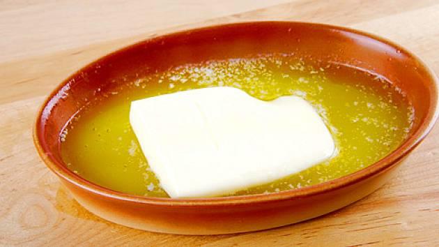 přepouštěné máslo