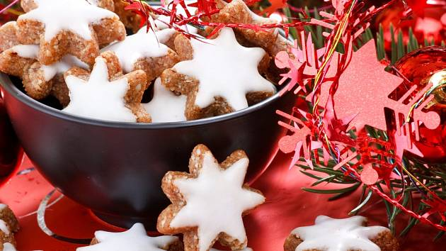 Ořechové hvězdičky