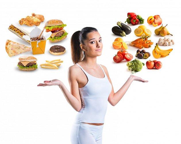 Pokud chcete efektivně zhubnout, musíte si vybrat...