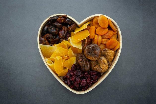 Ke slazení můžeme využít sušené ovoce.