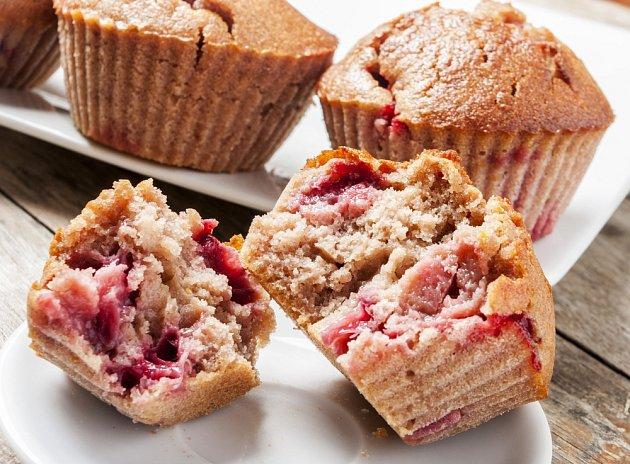 Je libo muffiny s jahodami?
