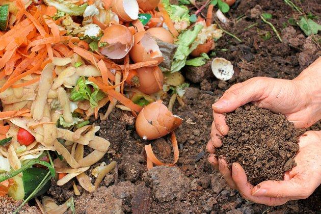 Využít lze i část odpadu z kuchyně.