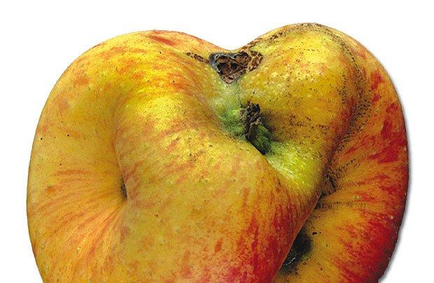 deformované ovoce