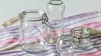 Čisté sklenice chráníme před případným znečištěním.