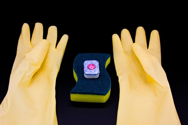 K vyčištění koupelny můžeme použít i tabletu do myčky.