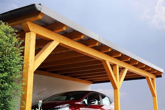 Kvalitní přístřešek pro váš vůz často postačí.