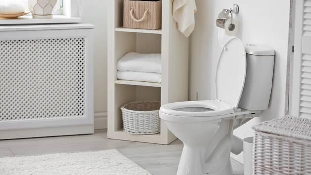 Toaleta zářící čistotou