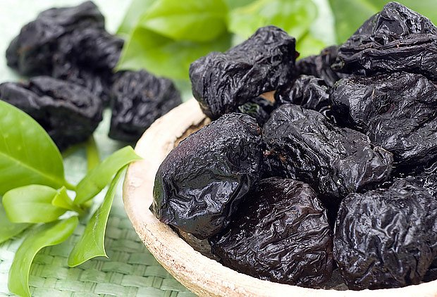sušené švestky, pochoutka která prospívá trávení