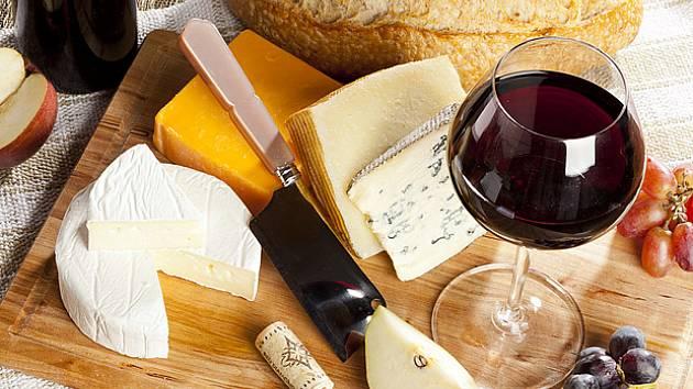 Víno a sýry