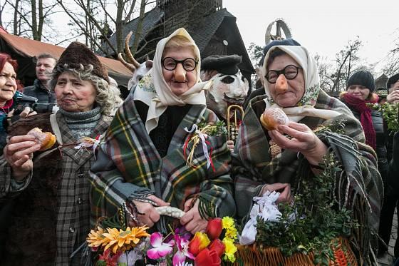 Ve Valašském muzeu v přírodě se každoročně soutěží o nejlepší masopustní dobroty.