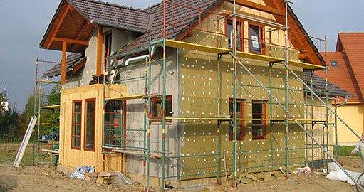 Pasivní rodinný dům – lehká dřevostavba, foto EnvIC