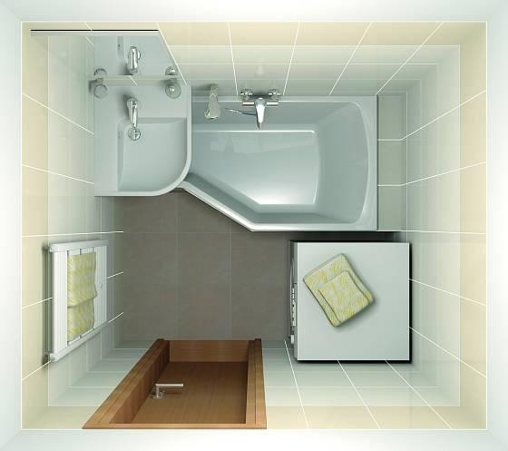 Koupelnička jako hnízdečko