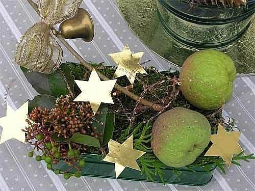 Stačí pár drobností a vánoční dekorace je na světě.