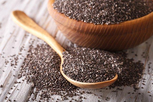 K obohacení jídelníčku přispěje i konzumace chia semínek.