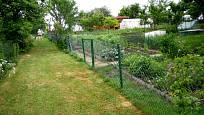 Drátěný plot pozemek vymezuje i chrání
