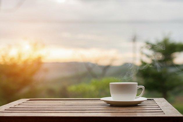 snídaně káva